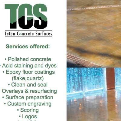 teton concrete surfaces