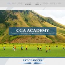 CGA-Academy-Website-Screenshot