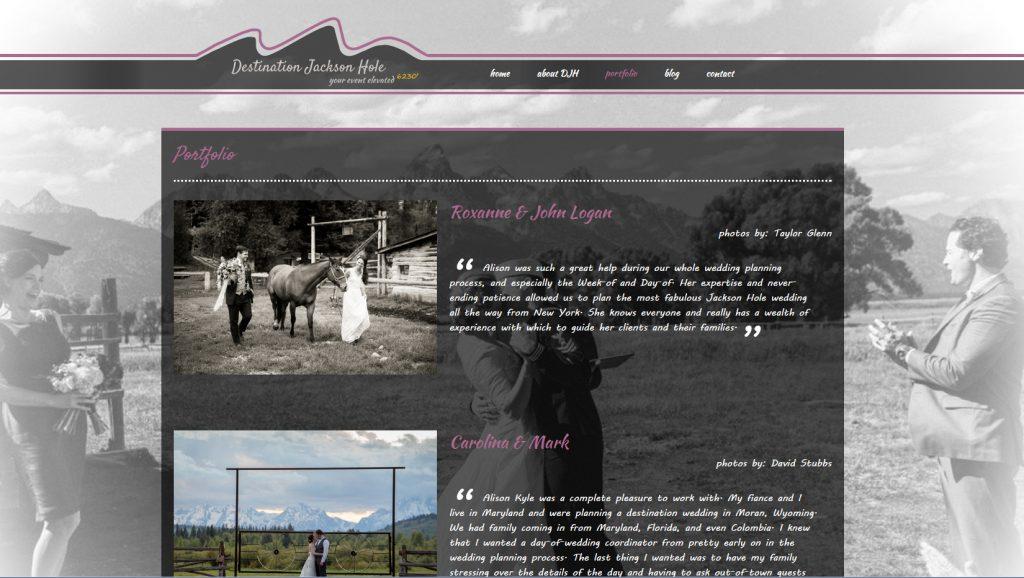 Interior Web Page Design